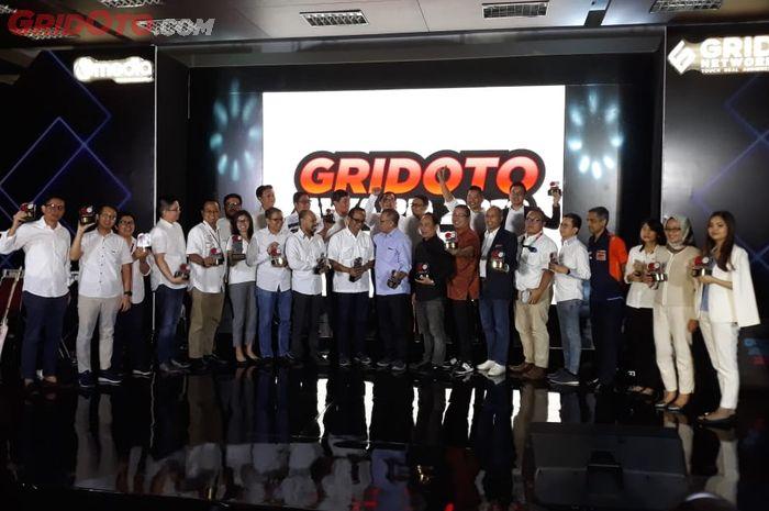 Deretan pemenang GridOto Award 2019