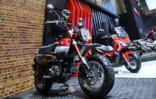 selain honda adv150, astra honda motor juga rilis honda monkey. segini harganya