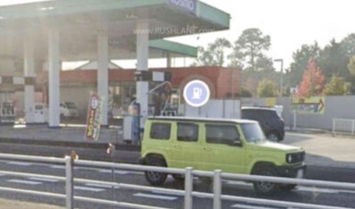 Sosok diduga Suzuki Jimny 5 pintu terlihat di Google Street
