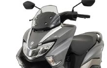 Spesifikasi Skutik Besar Suzuki Selevel Yamaha NMAX, Ukuran Roda Belang