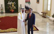 jokowi ngebut bareng putra mahkota uni emirat arab, kepo merek mobil sampai intip speedometer yang sentuh 200 km/jam!
