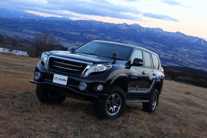 Modifikasi Toyota Land Cruiser Prado hasil garapan Jaos