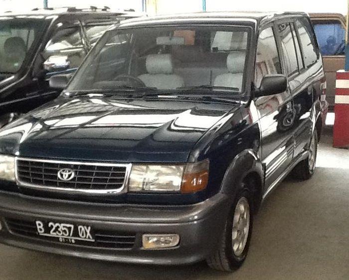 Toyota Kijang Krista 98 Modifikasi ALTO.  Saat masih dalam keadaan standar