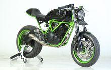 Yamaha Scorpio Berotot, Swing arm Moge, Dijejalkan Pelek Lebar