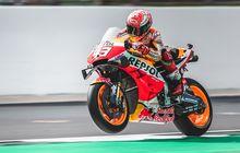 hasil fp2 motogp inggris: marc marquez tercepat, catatan waktu valentino rossi dianulir