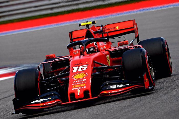 Meski meraih pole position di F1 Rusia, Charles Leclerc menilai start akan jadii momen yang penting di awal balapan karena ada trek lurus yang lumayan panjang