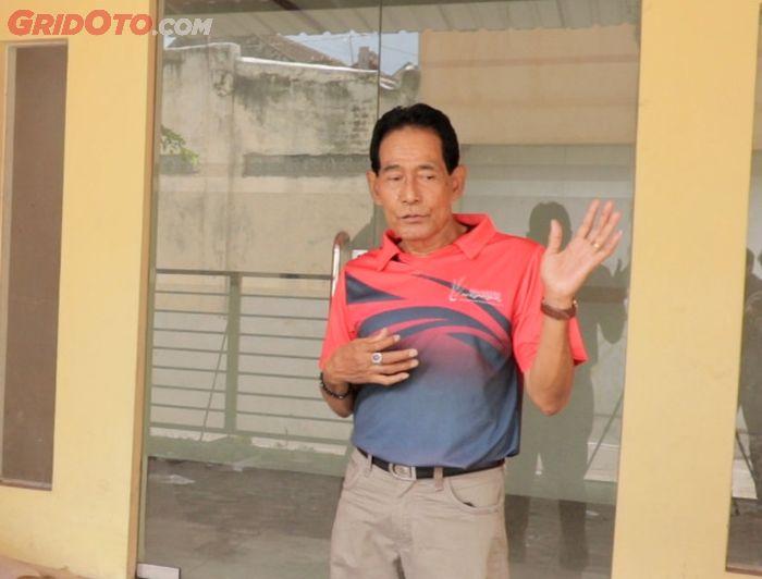 Heri Isranto ayahanda Galih pemilik motor gaib Solo saat menceritakan kronologi penyitaan motor kepada GridOto