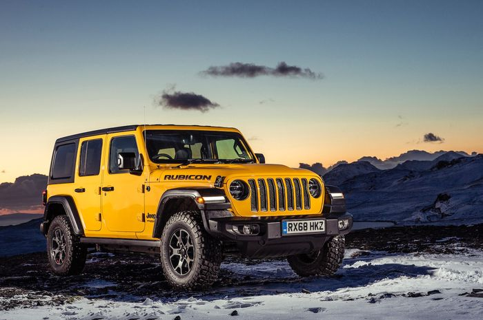 Jeep Wrangler Rubicon 2020 Dikabarkan Bakal Meluncur Di India Bulan Depan Jangan Kaget Lihat Harganya Gridoto Com