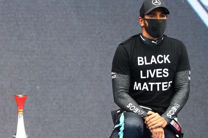 Unggahan Instagram Lewis Hamilton menuai kritik