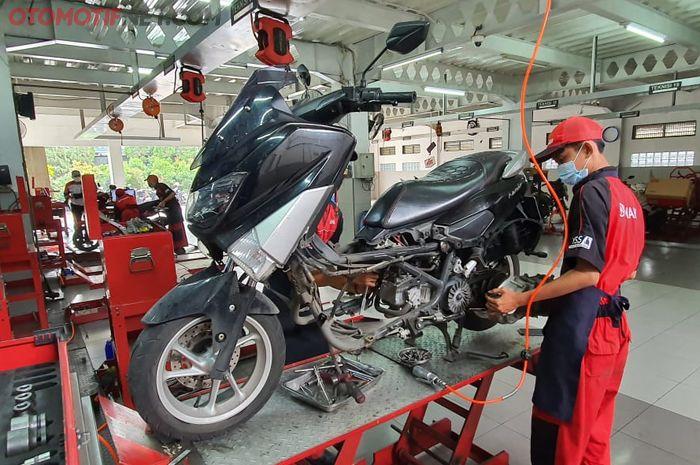 Biaya servis CVT Yamaha NMAX di bengkel spesialis