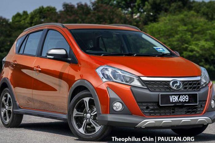 Rendering Perodua Myvi Style besutan Theophilus Chin