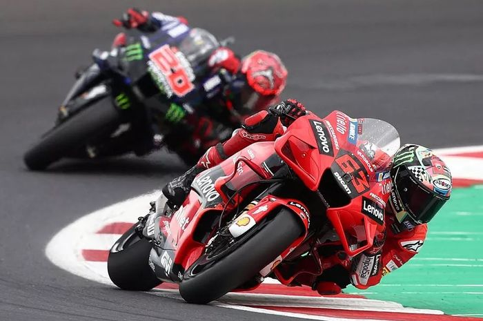 Francesco Bagnaia sadar tidak mudah mengejar poin Fabio Quartararo, tetapi ia siap mempersulit pembalap Yamaha itu meraih juara dunia MotoGP 2021