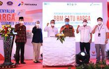 Pertamina Tuntaskan BBM Satu Harga di 287 Titik Seluruh Indonesia