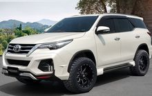 Toyota Fortuner Tidak Haram Pakai Ban Tapak Lebar, Auto Tambah Keren!