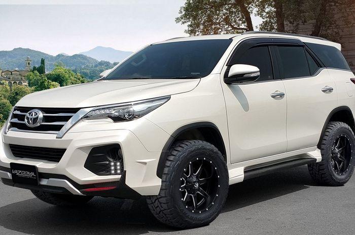 Toyota Fortuner Ganti Pelek Mending Naik 2 Inci Kalau Lebih Efek Ke Gardan Gridoto Com
