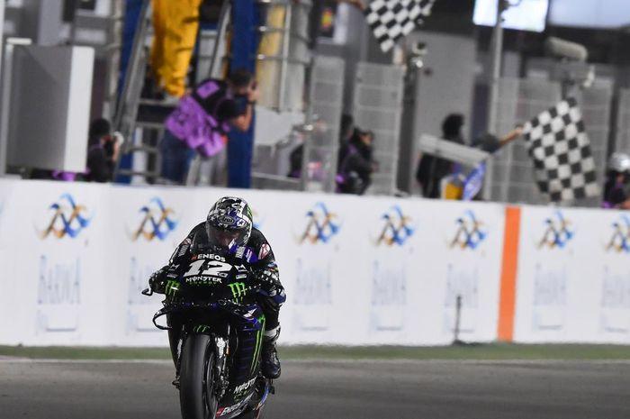 Mengenal slipstream, teknik yang jadi kuci kemenangan Maverick Vinales pada balapan MotoGP Qatar 2021