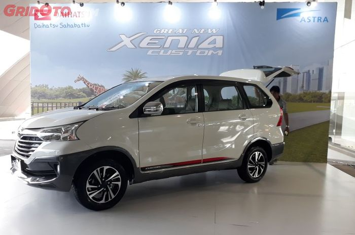 PT Astra Daihatsu Motor luncurkan Great New Xenia Custom, MPV dengan konsep tough & sporty