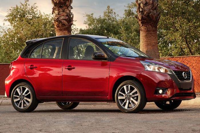 Nissan March facelift meluncur khusus di Maksiko, buritan masih identik model lama