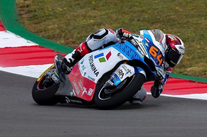 Tampil buruk di hari pertama Moto2 Portugal 2021, pembalap Pertamina Mandalika SAG Team , Bo Bendsneyder minta maaf
