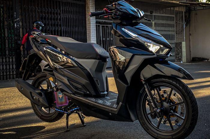 Honda Vario 150 dimodif mewah dengan part jutaan rupiah