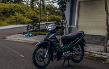 Yamaha Vega R Tampil Keren Kena Modif Impresif dan Berkaki Istimewa
