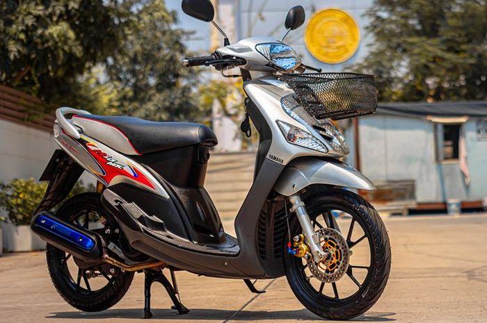 Modifikasi minimalis Yamaha Mio 110