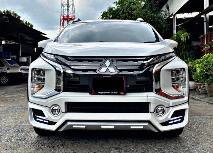 Tampilan depan modifikasi Mitsubishi Xpander Cross