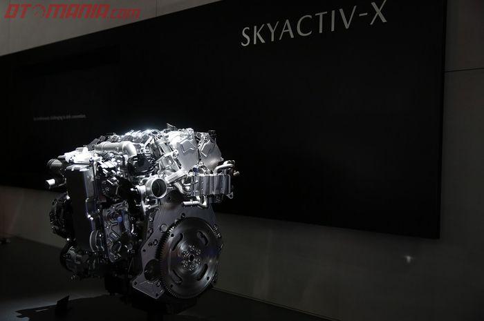 Mazda Kenalkan teknologi SKYACTIV-X di Tokyo Motor Show