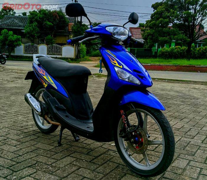 Restorasi modifikasi Yamaha Mio Sporty tahun 2005