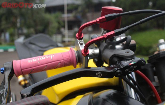 Yamaha R15 pasang master rem Brembo RCS 17 Costa Corsa