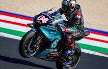 Andrea Dovizioso Dibuat Heran, Fabio Quartararo Bisa Moncer Pakai Motor Yamaha di MotoGP San Marino 2021