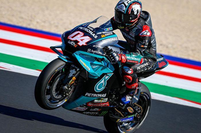 Andrea Dovizioso mengatakan Fabio Quartararo bisa cepat di atas motor Yamaha adalah sesuatu yang istimewa