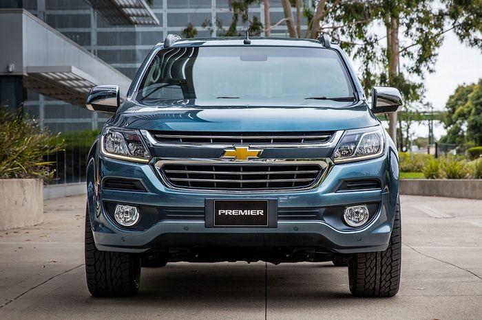 Chevrolet Trailblazer Primier hadir dalam balutan kelir baru dan aksen krom