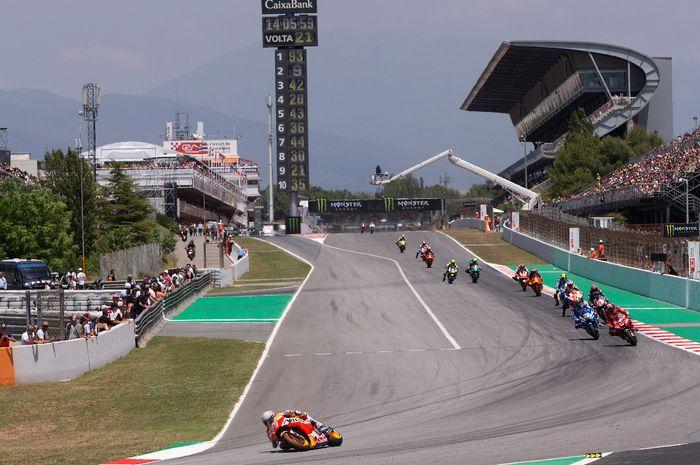 MotoGP Catalunya ikut tertunda.