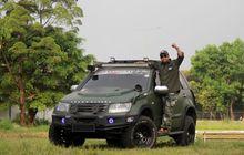 Modifikasi Suzuki Grand Vitara, Army Look Dengan Konsep Overland