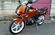 Kawasaki Ninja RR Tampil Menawan Berjubah Jingga Plus Part Racing Kece