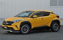 Toyota C-HR Hybrid Makin Ganteng Diubah Bergaya Rally