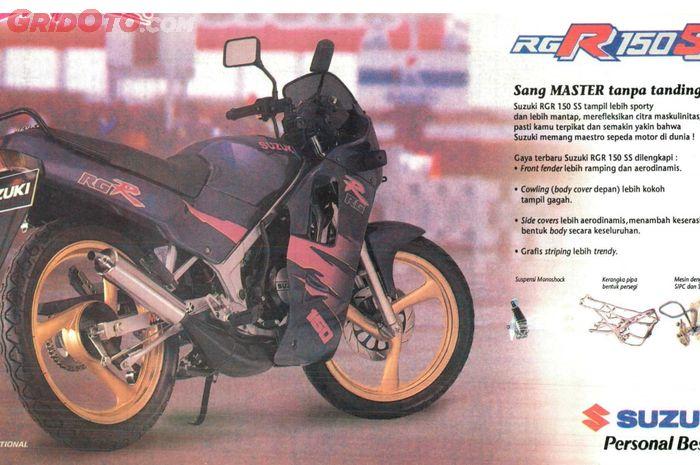 Suzuki RGR 150 edisi terbatas keluaran 1993