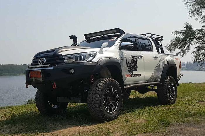 Modifikasi Toyota Hilux sangar usung gaya ALTO (All Light Terrain Off-road)