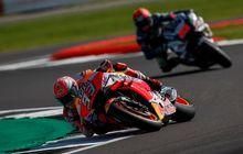 hasil fp4 motogp inggris: valentino rossi lumayan, marc marquez tercepat