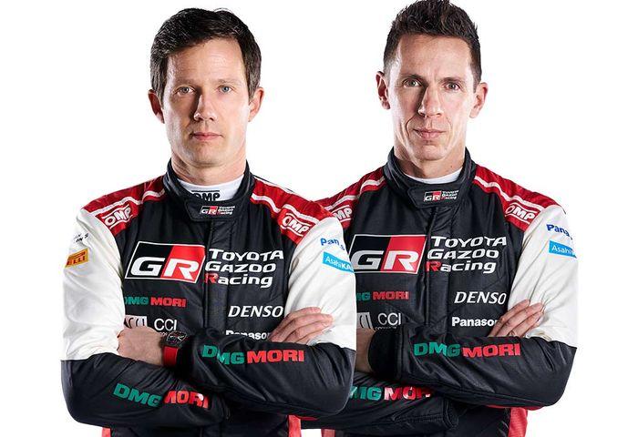 Sebastien Ogier (kiri) dan Julien Ingrassia