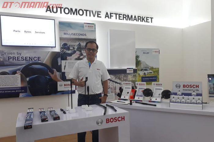 Decky Purhadi, sales representative automotive aftermarket Bosch, area Jawa Timur dan Bali.