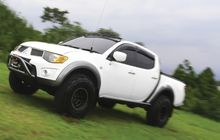 Mitsubishi Triton Gaya Off-Road Tapi Klimis. Bukan Anti Lumpur