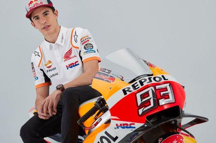 Marc Marquez berharap Fabio Quartararo agar tampil lebih garang di sisa MotoGP 2020 agar bisa meraih gelar juara dunia