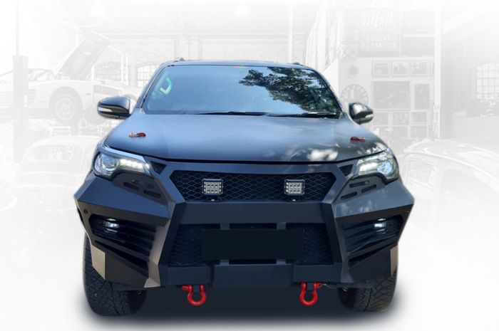 Toyota Fortuner Tampil Gagah Cuma Modal Bumper Segini Harganya Gridoto Com
