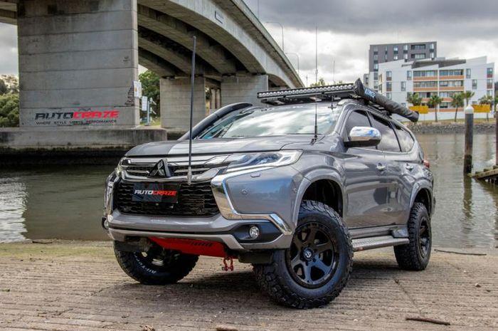 Modifikasi Mitsubishi Pajero Sport