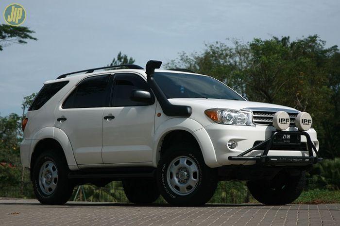 Modifikasi Toyota Fortuner G 2010