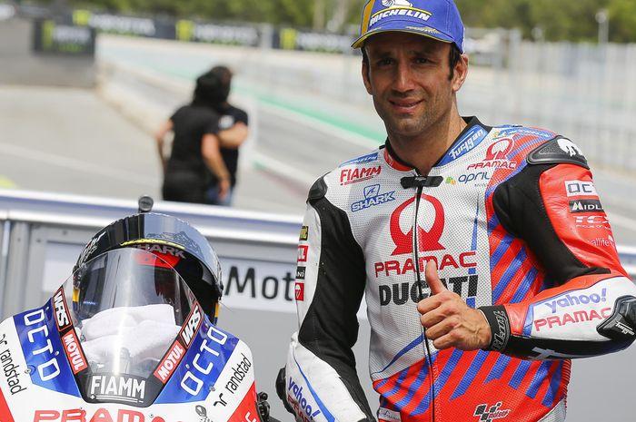 Johann Zarco jadi pembalap Ducati yang tampil paling konsisten di MotoGP 2021, Jack Miller bongkar rahasianya