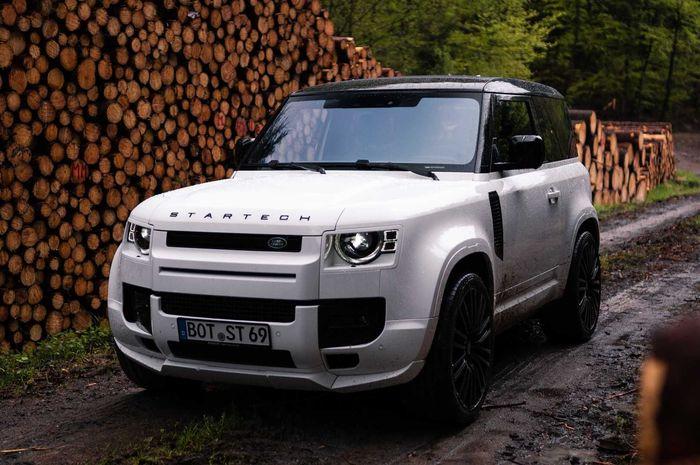 Modifikasi Land Rover Defender baru hasil garapan Startech, Inggris