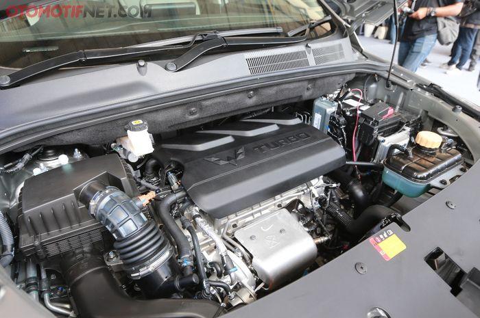 Ilustrasi mesin Turbo pada line up Cortez CT dan Almaz